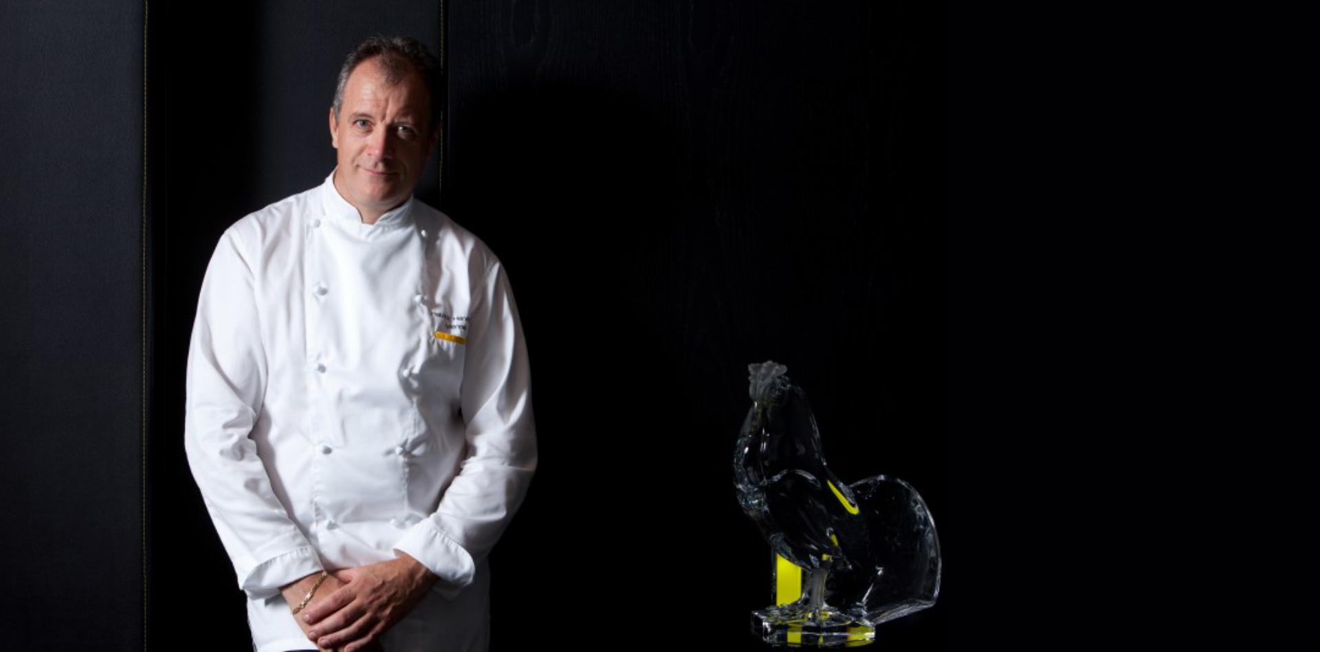 Patrick Henrirouch Chef de la Pyramide