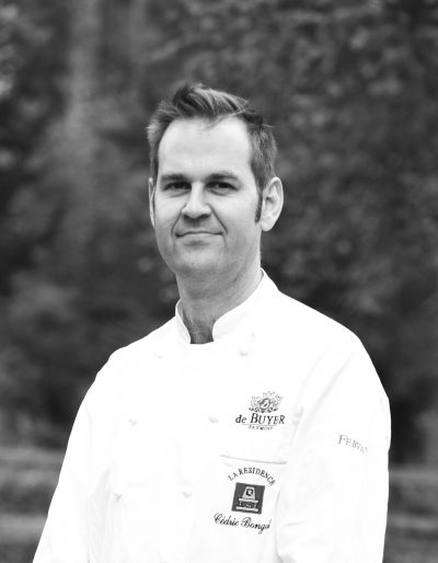 Cedric Bongeot chef au restaurant la Résidence au Val d'Ajol, ambassade Griottines