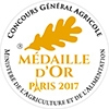 Médaille Or Concours agricole 2017