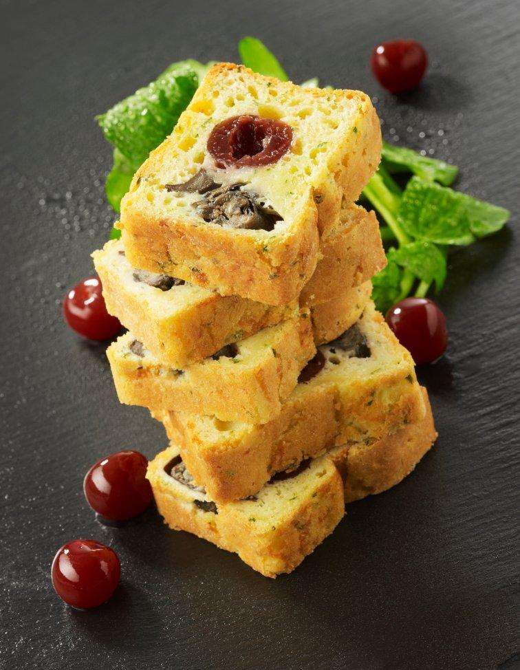 Cake aux escargots et Griottines La Bleue®