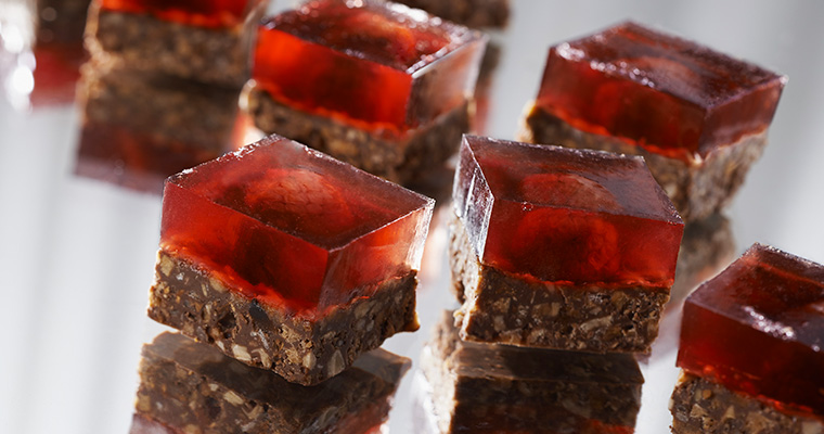 Carrés chocolat Framboisines®