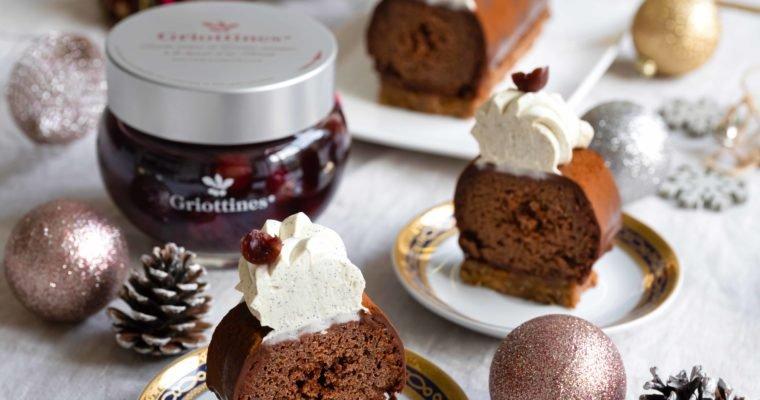 Bûche Chocolat Griottines®